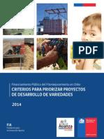 Criterios Para Priorizar Proyectos de Desarrollo de Variedades 3