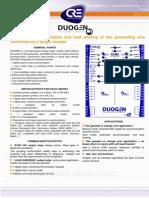 Duogen Product Bulletin