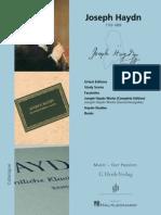 2009 He Nle Haydn Brochure