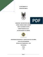 Informe Terminado Radiacion Simple
