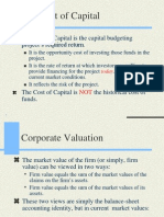 The Cost of Capital, Capital Structure and Dividend Policyuits