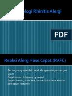 Patofisiologi Rhinitis Alergi