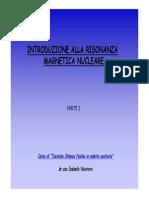 Introduzione NMR Parte2