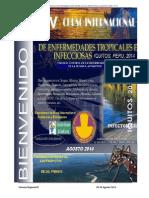 Invitacion y Programa preliminar_V CURSO INTERNACIONAL DE ENFERMEDADES TROPICALES E INFECCIOSAS, IQUITOS, PERU, 2014