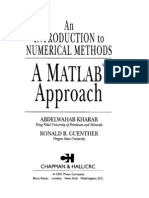 Numerical Methods Using MATLAB 4ed Solution Manual