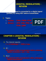 Digital Modulation Review