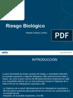 Introduccion Riesgo Biologico . Julio García