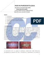 Diagniosi in Parodontite
