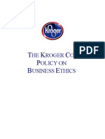 Business Ethics Policy April 2014