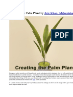 Creating the Palm Plant