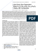 Resistivity-And-Grain-Size-Dependent-Magnetoelectric-Effect-In-Y-Ni0.85cd0.1cu0.05fe2o4-+-1-y-Batio3-Me-Composites