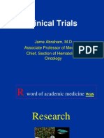 Clinical Trials 2008