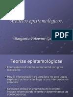 1. Modelos epistemológicos