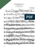 WIENIAWSKY Violin Concerto No2