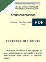 Recursos Retóricos