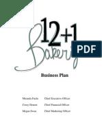 Bakery Business Plan2