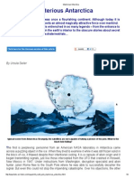 Mysterious Antarctica