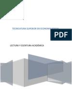 Lectura y Escritura Académica Economia Social