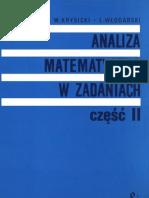 Analiza Matematyczna w Zadaniach Tom 2 - Krysicki Wlodarski
