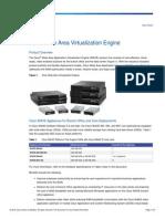 Cisco Wide Area Virtualization Engine II