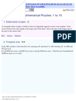 Nick's Mathematical Puzzles - 1 to 160