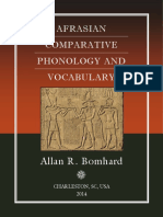 Bomhard - Afrasian Comparative Phonology and Vocabulary