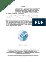 Importancia e Historia Del Internet