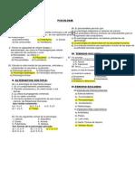 Examen Psicologia i Unidad 5º