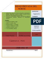 Informe Final de Topografia Minera