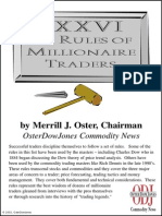 Merrill Oster - 76 Rules of Millionaire Traders (2002)