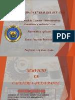 Proyecto Innovador Informatica Aplicada CA 3-4 28-04-2014 Coffeee Queen