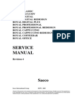 Saeco Royal Service Manual
