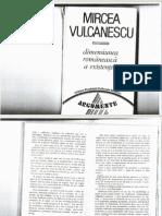 Mircea Vulcanescu - Dimensiunea Romaneasca a Existentei[1]