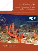 2014 Oil In Our Oceans. Effects on Marine Invertebrates. Review. Citation of Moscow University scientist, Dr. S.A.Ostroumov. http://ru.scribd.com/doc/223276778/