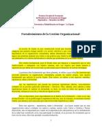 Luis Bustos Fortaleciendo La Gestic3b3n Organizacional 2002