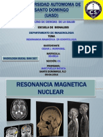 Resonancia Magnetica