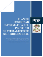 Plan de Seguridad Informatica