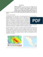 Baja California Mexico Terremoto