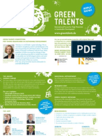 GREEN TALENTS 2014 Application Flyer Accessible