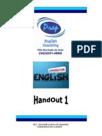 APOSTILA 2012 CONVERSATION CLASSES PREP HANDOUT 1.pdf