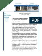 FEM four article series