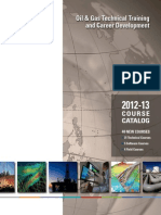 NExT Oil_Gas Training Course Catalog
