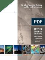 NExT Oil_Gas Training Course Catalog