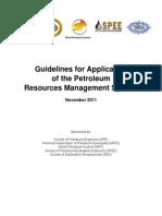 PRMS Guidelines Nov2011