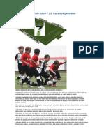 Sistemas de Juego de Fútbol 7