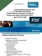 Microsoft VW - Halock Case Study 2006