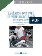 La Gestion Dun Parc de Fauteuils Roulants