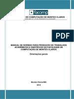 Manual de Normas Facomp 2012