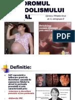Sindromul Alcoolismului Fetal
