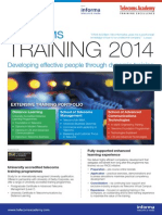Training Training 2014